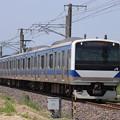 Photos: 水戸線 E531系K464編成 737M 普通 勝田 行 2020.05.02 (1)