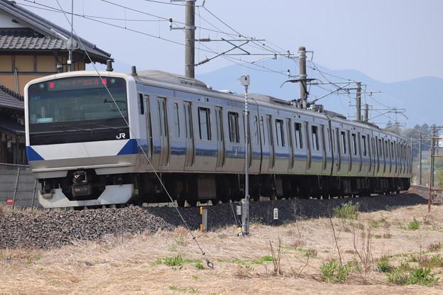 水戸線 E531系K457編成 744M 普通 小山 行 2020.05.02