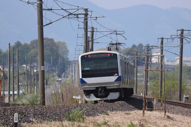 水戸線 E531系K457編成 744M 普通 小山 行 2020.05.02 (1)