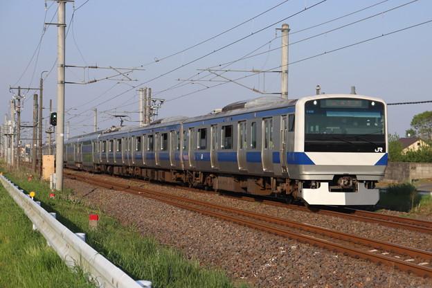 常磐線 E531系K406編成 440M 普通 上野 行 2020.05.02