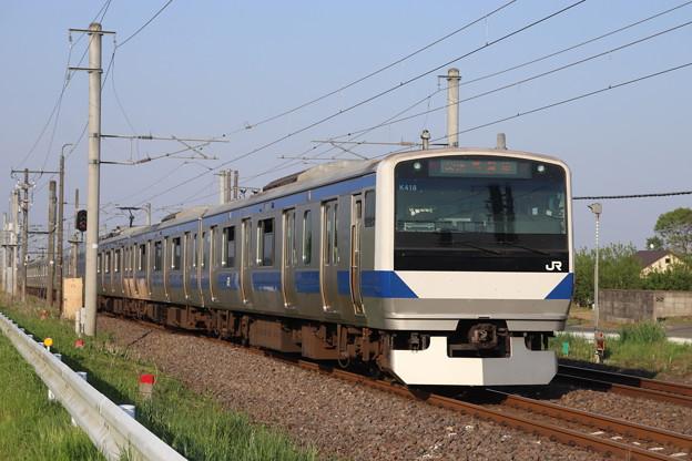 常磐線 E531系K418編成 391M 普通 水戸 行 2020.05.02
