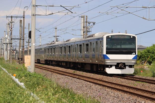 Photos: 常磐線 E531系K409編成 422M 普通 上野 行 2020.05.17