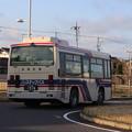 茨城交通 水戸200か1974 リア側 かさま周遊観光バス