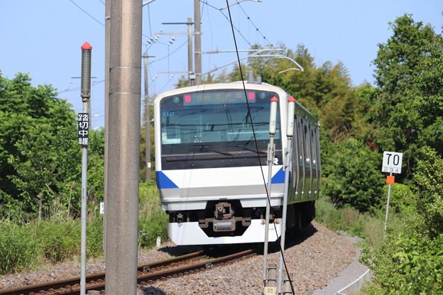 水戸線 E531系3000番台K557編成 751M 普通 友部 行 後追い 2020.06.07 (1)