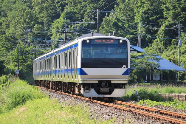 水戸線 E531系K464編成 753M 普通 友部 行 2020.06.07