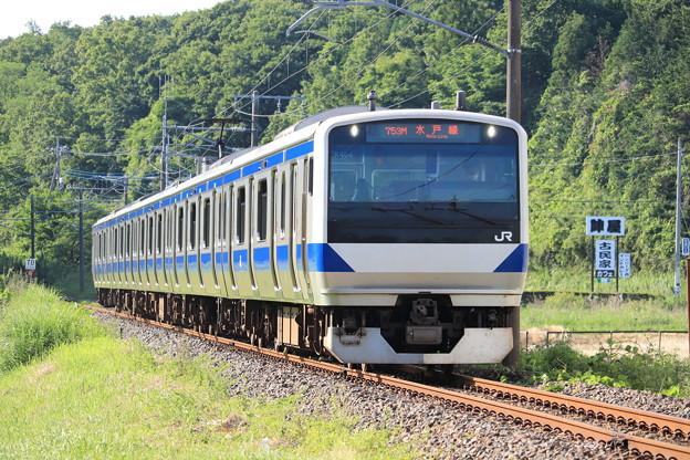 水戸線 E531系K464編成 753M 普通 友部 行 2020.06.07 (1)