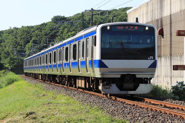 水戸線 E531系K464編成 753M 普通 友部 行 2020.06.07 (2)