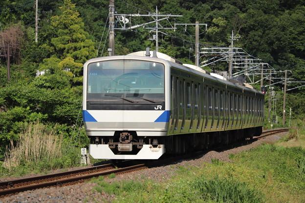 水戸線 E531系K464編成 758M 普通 小山 行 2020.06.07