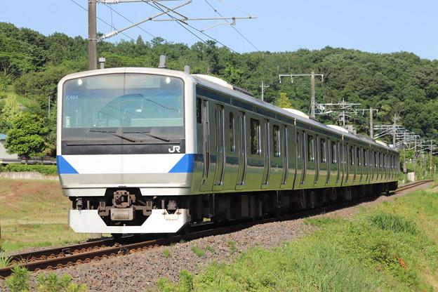 水戸線 E531系K464編成 758M 普通 小山 行 2020.06.07 (1)
