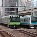 Photos: 山手線E235系トウ40編成・京浜東北線E233系1000番台サイ105編成 並走