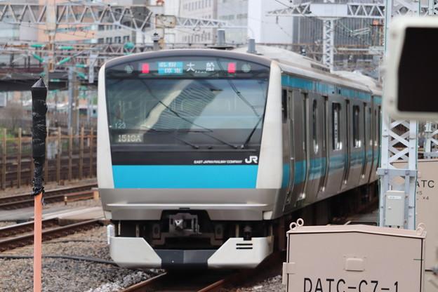 京浜東北線 E233系1000番台サイ123編成