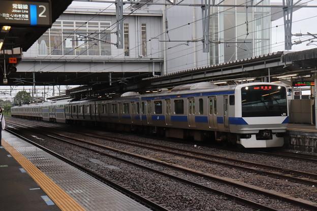 常磐線 E531系K406編成 444M 普通 上野 行 2020.07.06