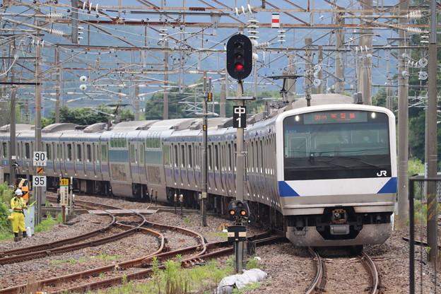 常磐線 E531系K404編成 367M 普通 勝田 行 2020.07.10