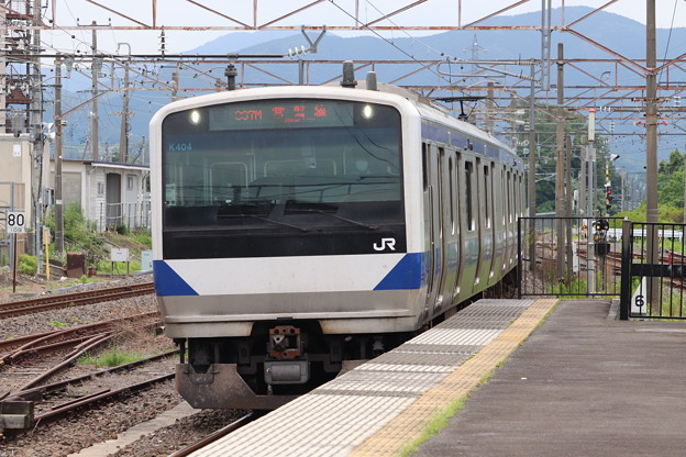 常磐線 E531系K404編成 367M 普通 勝田 行 2020.07.10 (1)