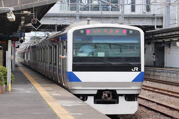 常磐線 E531系K404編成 367M 普通 勝田 行 後追い 2020.07.10