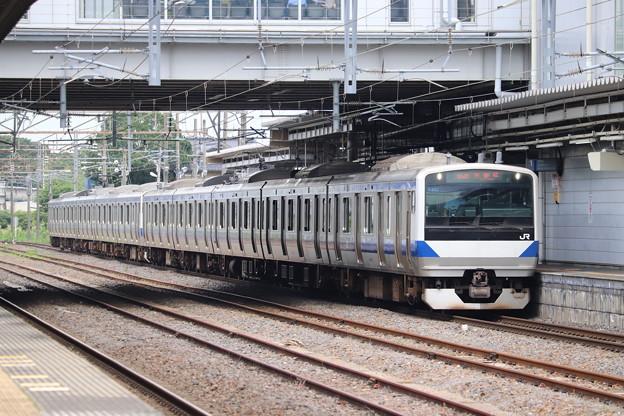 常磐線 E531系K462編成 554M 普通 土浦 行 2020.07.10