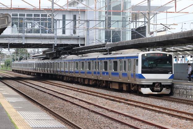 常磐線 E531系K462編成 554M 普通 土浦 行 2020.07.10 (1)