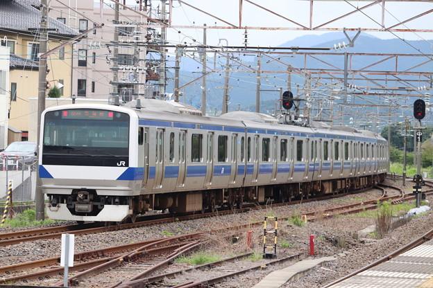 常磐線 E531系K474編成 554M 普通 土浦 行 2020.07.10