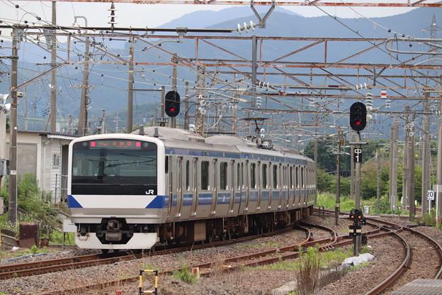常磐線 E531系K474編成 554M 普通 土浦 行 2020.07.10 (1)
