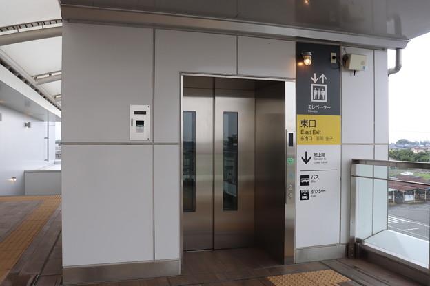 常磐線 神立駅東口 エレベーター