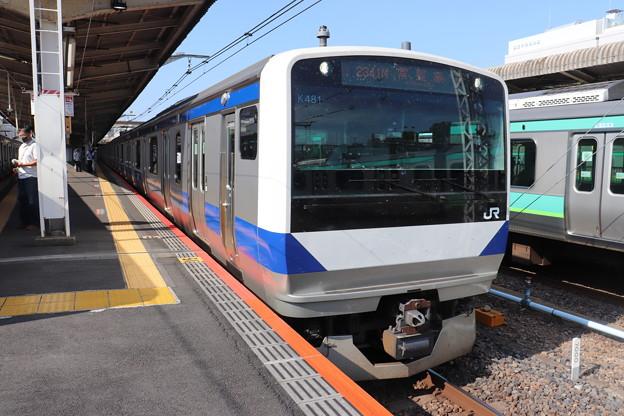 常磐線 E531系K481編成
