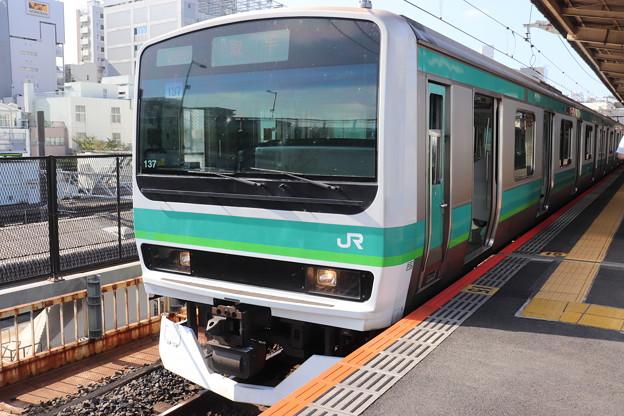 常磐快速線 E231系マト137編成