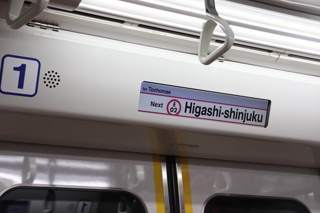 都営12-600形 車内LCD (1)