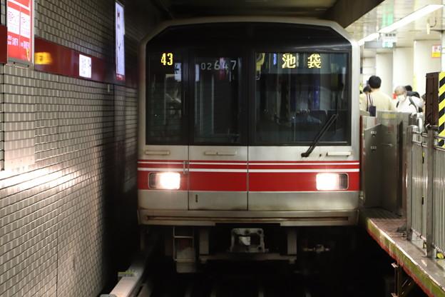 東京メトロ丸ノ内線 02系02-147F