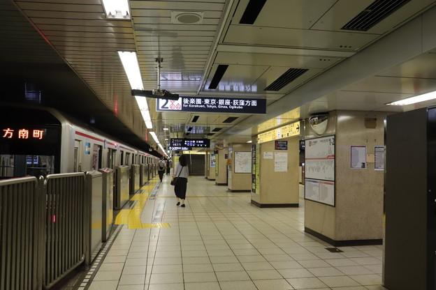 東京メトロ丸ノ内線 池袋駅2番線ホーム