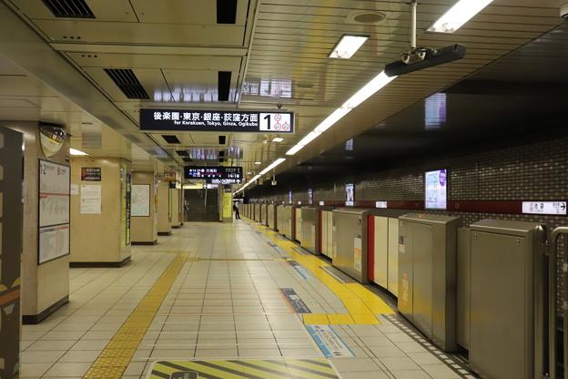 東京メトロ丸ノ内線 池袋駅1番線ホーム