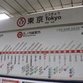 Photos: 東京メトロ丸ノ内線 東京駅 M17 駅名標