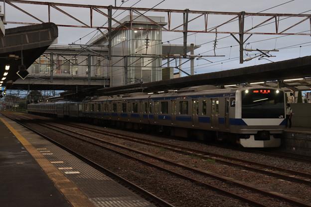 常磐線 E531系K417編成 448M 普通 上野 行 2020.08.31