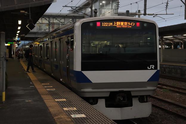 常磐線 E531系K419編成 1221M 普通 勝田 行 後追い 2020.08.31