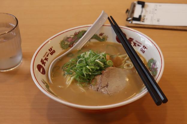 京都こってりラーメン 天下一品 池袋 豚骨醤油ラーメン