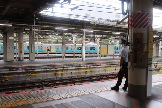 上野駅の光景