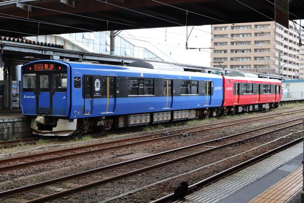 男鹿線 EV-E801系G1編成