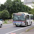 茨城交通 水戸200か1675 「いばっピ」ラッピング (1)