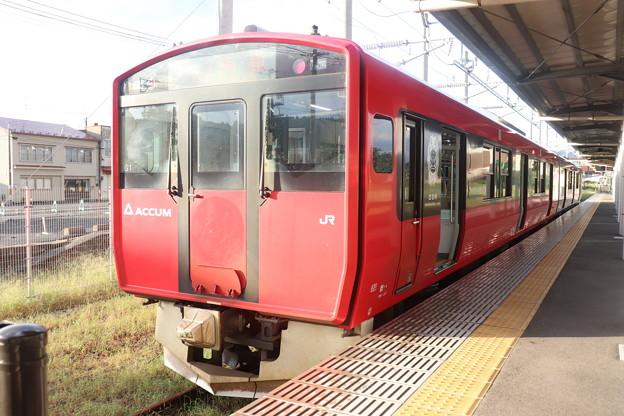 男鹿線 EV-E801系G1編成 ACCUM (1)