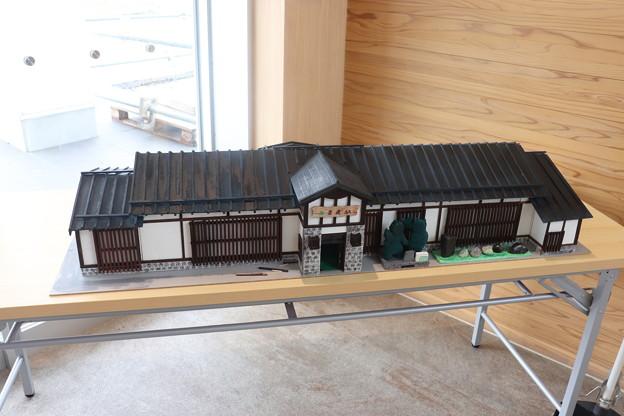 男鹿駅 模型展示