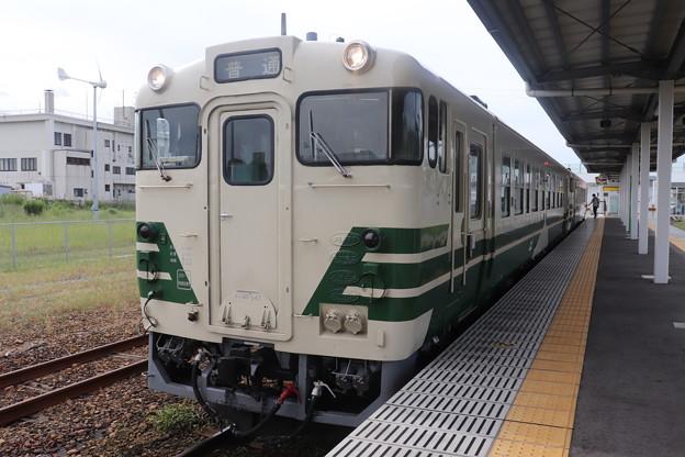 Photos: 男鹿線 キハ40系 キハ40 547
