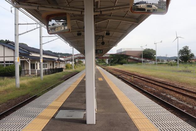 男鹿線 男鹿駅 ホーム