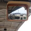 Photos: 男鹿線 男鹿駅 ワンマン運転用ミラー