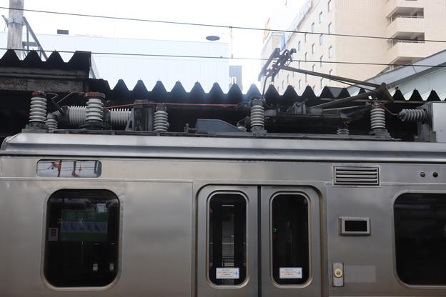 701系 シングルアームパンタグラフ