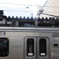 Photos: 701系 シングルアームパンタグラフ