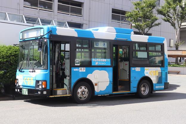 秋田中央交通 秋田200か834 中心市街地循環バス