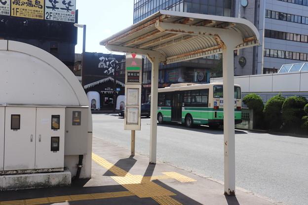 秋田駅西口バス停留所