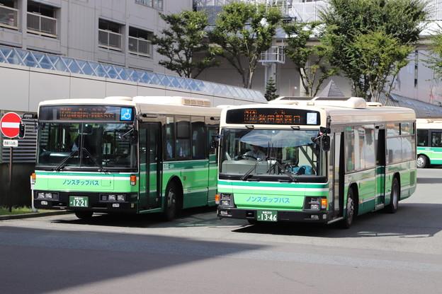 秋田中央交通 秋田200か 1221・1346