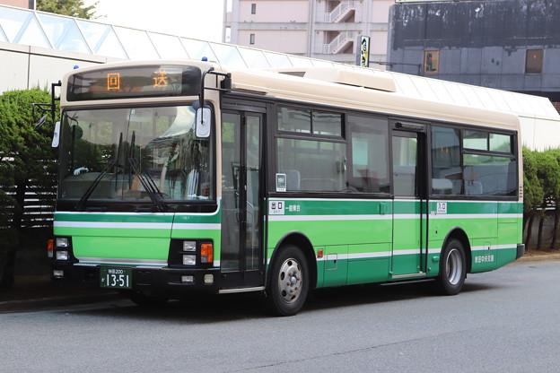 秋田中央交通 秋田200か1351