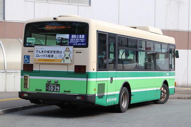 秋田中央交通 秋田200か1029 リア側