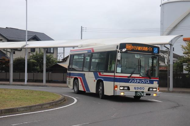 茨城交通 水戸200か1974 かさま観光周遊バス (1)
